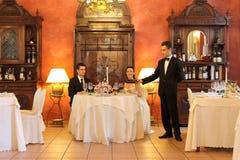 obiadowy ślub Zdjęcia Royalty Free