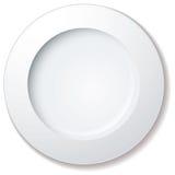 obiadowy ampuły talerza obręcz Zdjęcie Stock