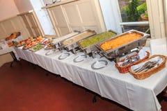 Obiadowy bufet zdjęcie royalty free