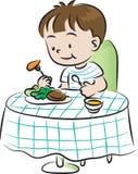 obiadowy eps ilustracyjny jpeg czas wektor Fotografia Stock