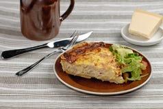 obiadowy kulebiak Fotografia Royalty Free