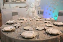 obiadowy ślub Zdjęcie Royalty Free