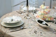 obiadowy ślub Fotografia Royalty Free