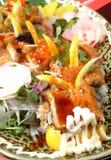 obiadowy owoce morza Obraz Royalty Free