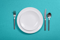 Obiadowy położenie obrazy royalty free
