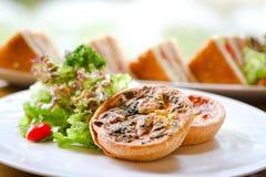 obiadowy rybiego jedzenia francuza stół Obraz Stock