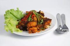 obiadowy rybiego jedzenia smażący tajlandzki Obraz Royalty Free