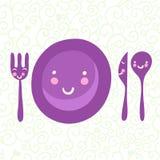 obiadowy set Zdjęcia Stock