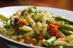 obiadowy włoski makaron Zdjęcia Royalty Free