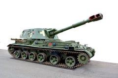 Obice automotore del cingolo dell'attrezzatura militare immagine stock libera da diritti