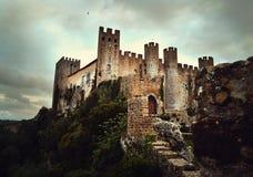 Obidos城堡 免版税库存图片