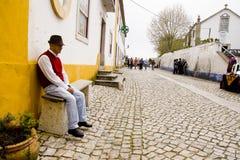 Obidos葡萄牙 库存照片