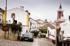 Obidos葡萄牙 库存图片