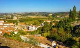Obidos,在葡萄牙文化的一次旅行 免版税库存图片