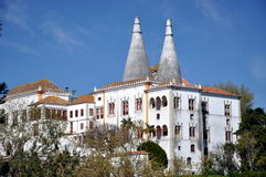 Obidos średniowieczny izolujący miasteczko Obrazy Royalty Free
