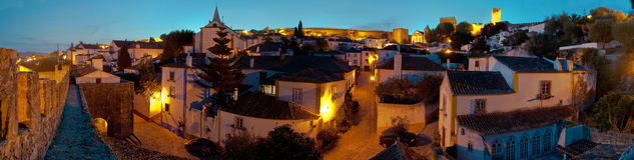 obidos Πορτογαλία Στοκ φωτογραφία με δικαίωμα ελεύθερης χρήσης