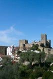 obidos замока стоковое фото rf