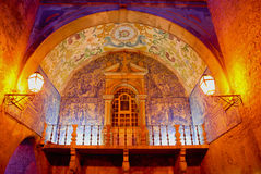 obidos azulejos Στοκ Εικόνες