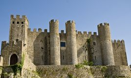 Obidos castle Royalty Free Stock Images