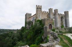 Obidos Castle royalty free stock photos
