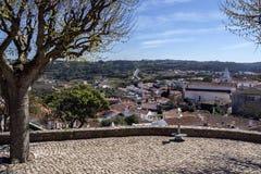 Obidos in der Oeste-Region von Portugal Stockfotografie