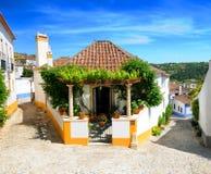 Obidos Dorf Portugal lizenzfreie stockfotografie