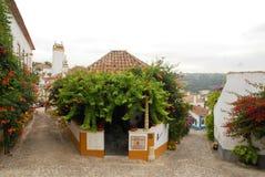 Obidos em Portugal Fotografia de Stock Royalty Free