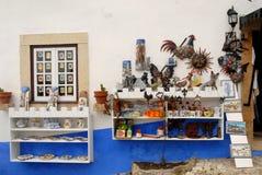 Obidos em Portugal Imagens de Stock Royalty Free