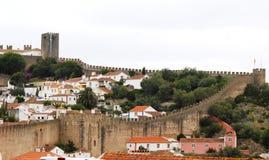 Obidos em Portugal Fotos de Stock