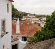 Obidos en Portugal foto de archivo libre de regalías