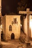 Obidos en travers, Portugal Image libre de droits