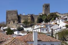 Obidos in het Oeste-gebied van Portugal Royalty-vrije Stock Afbeeldingen