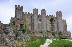 Obidos slott Arkivbilder