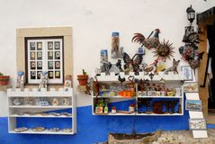 Obidos nel Portogallo immagini stock libere da diritti
