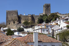 Obidos in the Oeste region of Portugal Royalty Free Stock Images