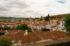 Obidos Old Town Stock Images