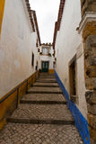 Obidos Old Town Stock Photo