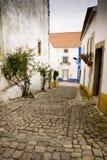 Obidos Portogallo Fotografie Stock