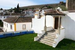 Obidos in Portugal Royalty-vrije Stock Foto's