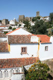 Obidos in Portugal Stock Afbeelding