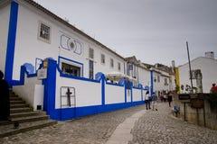 Obidos Portugal Stockfotos