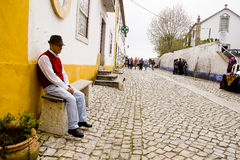 Obidos Portugal Fotos de archivo