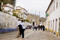 Obidos Portugal royalty-vrije stock foto's