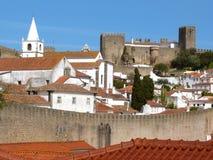 obidos Portugal Obraz Royalty Free