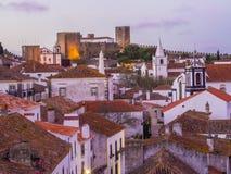 Obidos, Portugal Fotos de archivo libres de regalías