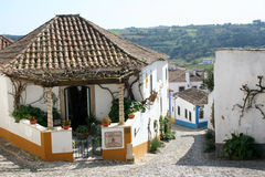 Obidos in Portugal Royalty Free Stock Images