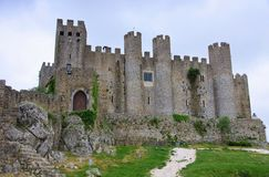 Obidos castle. Obidos in Portugal, the castle Stock Images
