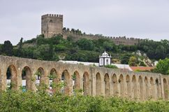 Obidos castle Royalty Free Stock Image