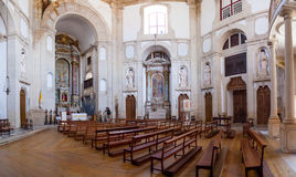 Obidos, Portugal. Church of the Senhor do Jesus da Pedra Sanctuary Stock Photography
