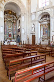 Obidos, Portugal. Church of the Senhor do Jesus da Pedra Sanctuary Royalty Free Stock Photos